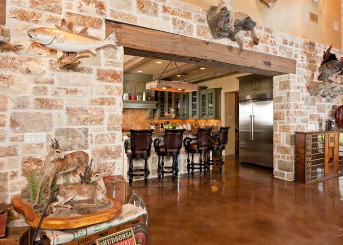 Ranch Foreman's House interior