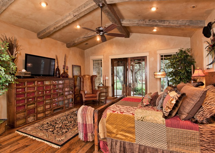 Ranch Foreman's House master bedroom