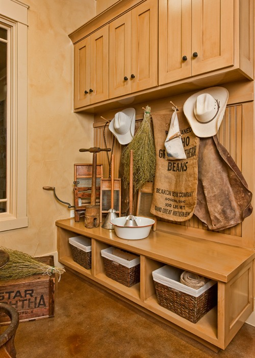 Ranch Foreman's House storage