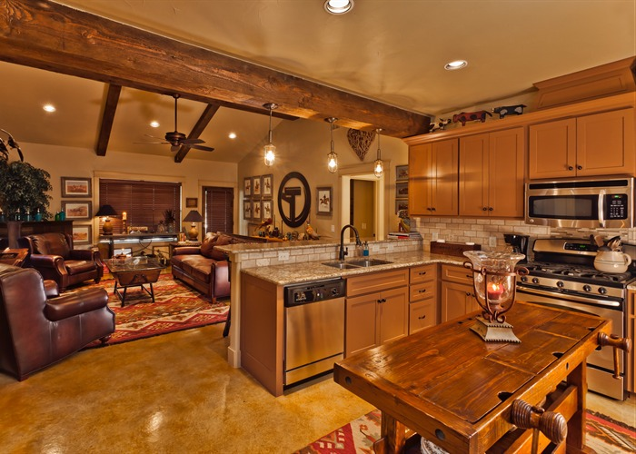 Ranch Hand's House kitchen