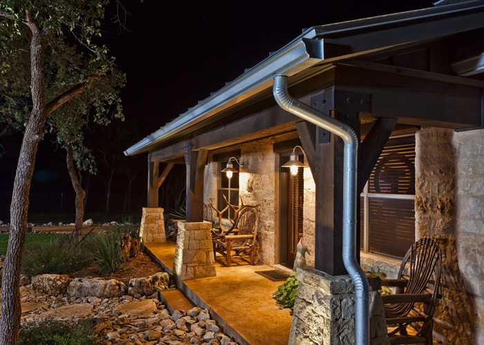Ranch Hand's House exterior night 2