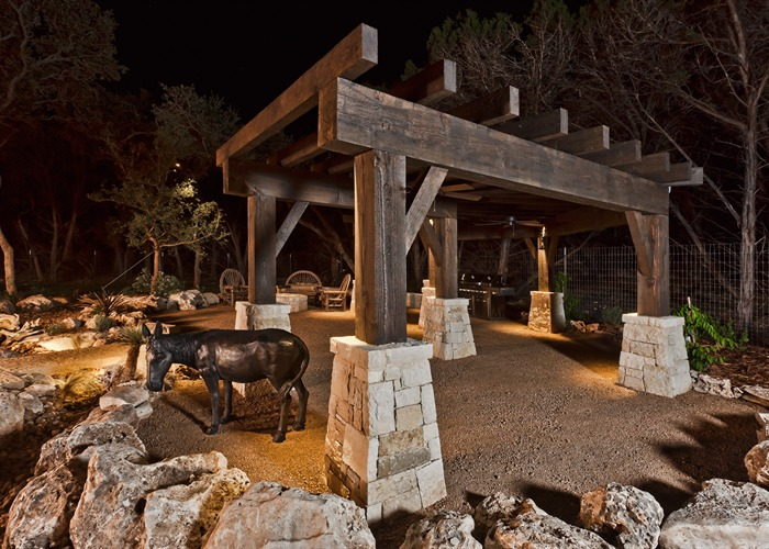 Ranch Hand's House outdoor area