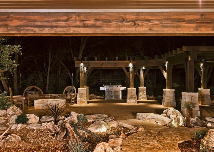 Ranch Hand's House outdoor kitchen