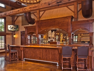 The Party Barn at The Branded T Ranch bar