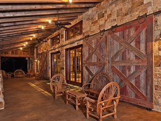 Barn Doors | The Party Barn at The Branded T Ranch | Todd Glowka Builder, Inc.