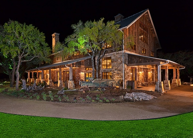 Exterior of The Party Barn at The Branded T Ranch | Todd Glowka Builder, Inc.