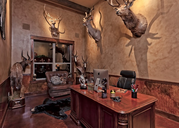 Cordillera Trophy Room: Office Space