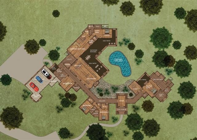Cordillera II: A Tejas Hacienda Style Home