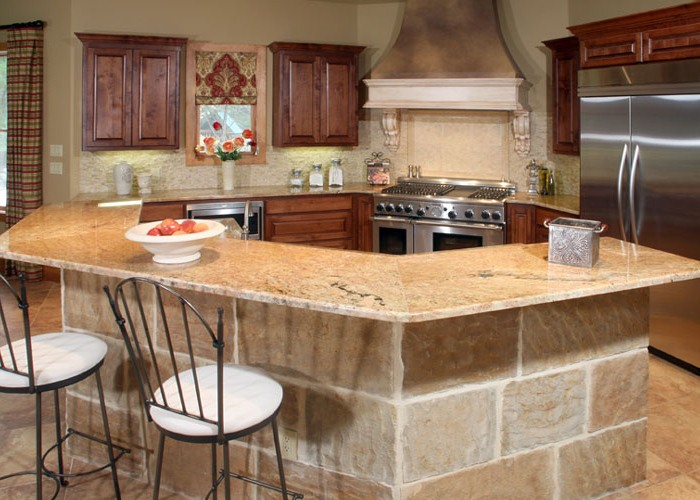River Forest | Mediterranean Style - Kitchen