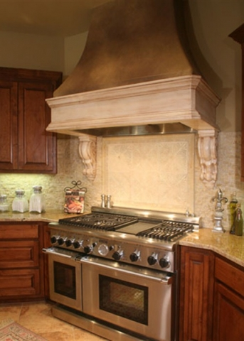 River Forest | Mediterranean Style - Hood Vent