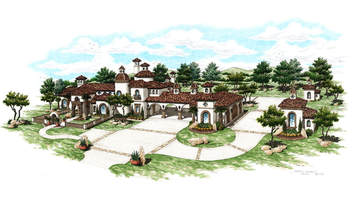 Refugio Ranch by spanish style home builders San Antonio, Todd Glowka Builder