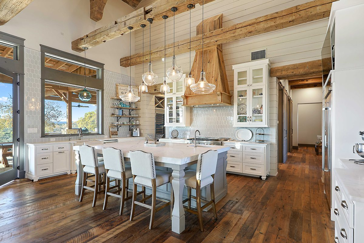 hill country custom home by Todd Glowka Builder, Inc - kitchen