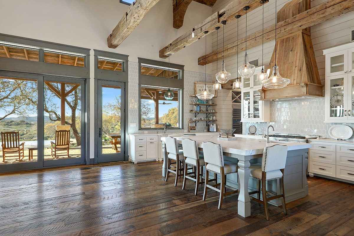 hill country custom home by Todd Glowka Builder, Inc - kitchen 4