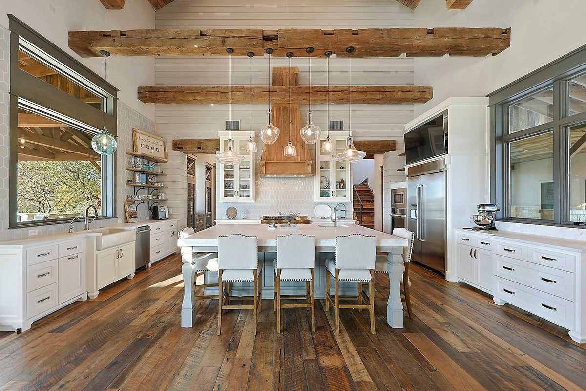 hill country custom home by Todd Glowka Builder, Inc - kitchen 2