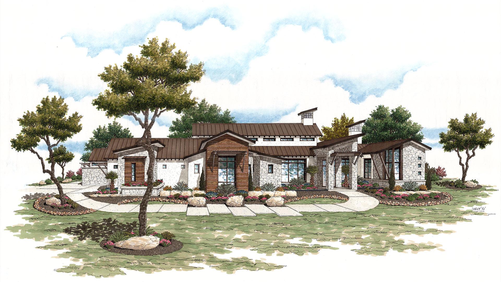 Texas Hill Country Contemporary at Cordillera Ranch 2