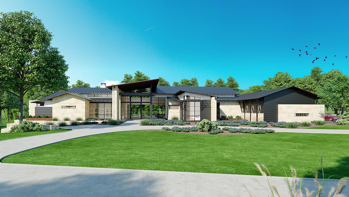 10,000sf modern marvel in Cordillera Ranch by luxury home builder Todd Glowka Builder, Inc.