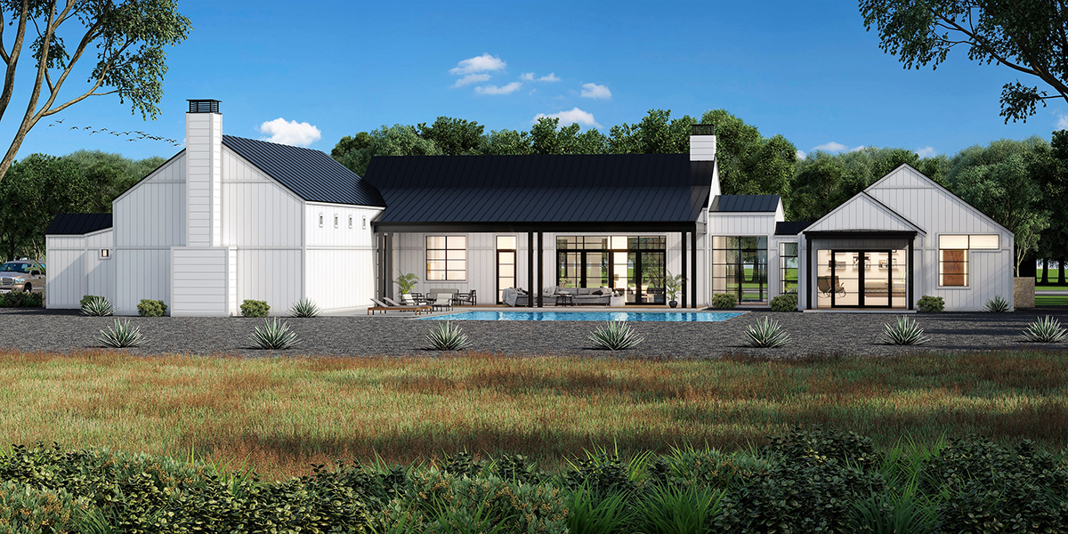 Modern Farmhouse by Boerne Custom Homebuilder Todd Glowka Builder, Inc.