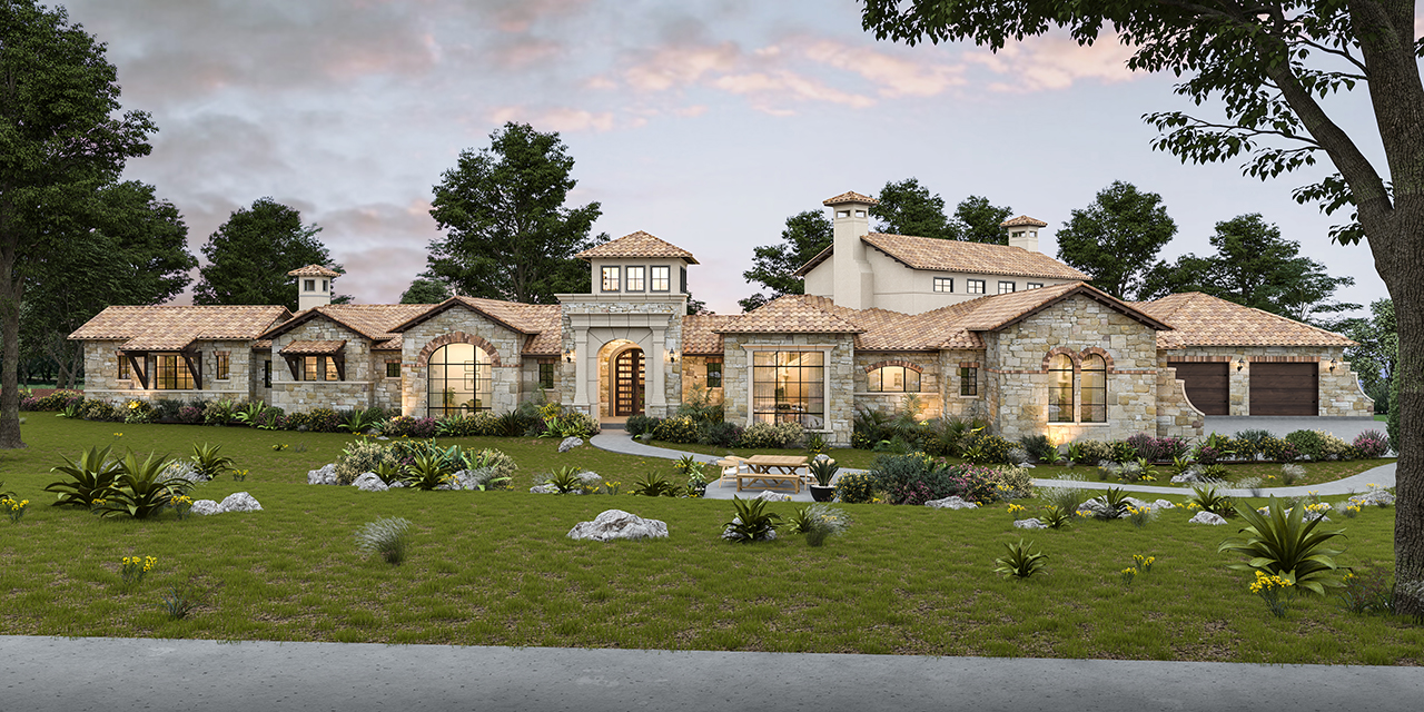 Another masterpiece by Boerne custom home builder Todd Glowka Builder, Inc.