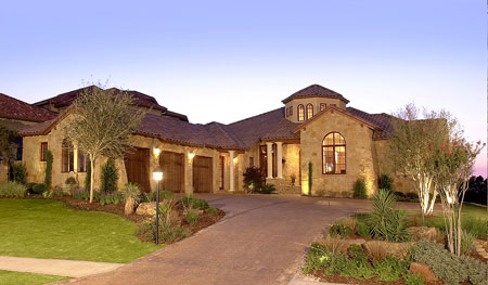 The best of contemporary hill country homes, this parade home won best Overall Craftsmanship, Best Overall Quality and Best Landscaping.